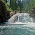 Водопад на речке Осиновка